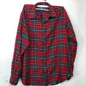 POLO RALPH LAUREN Custom Fit Plaid Twill Shirt XXL